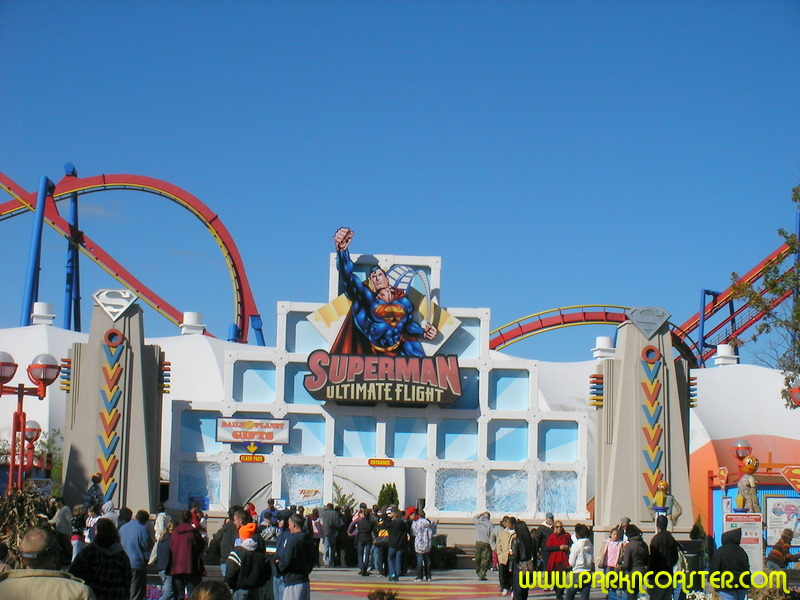 Superman - Ultimate Flight in Six Flags Great Adventure ...
