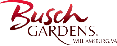 Logo of Busch Gardens Williamsburg