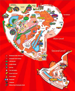 Map of Adventuredome