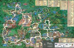Map of Busch Gardens Tampa