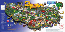 Map of Dennlys Parc