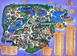 Map of Efteling