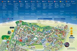 Map of Europa Park