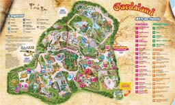 Map of Gardaland