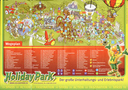 Map of Holiday Park