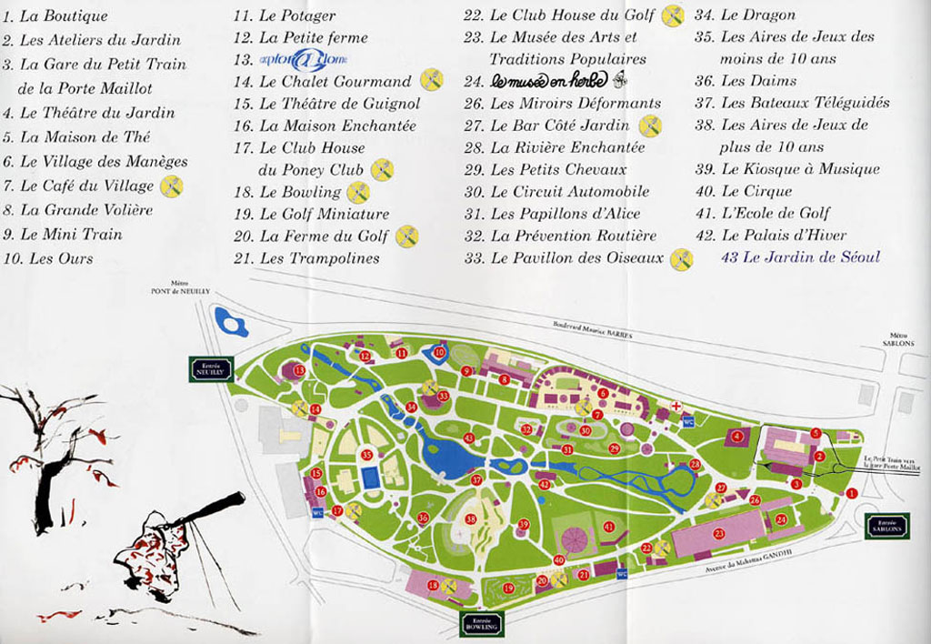Jardin d 39 acclimatation park maps informations photos for Jardin acclimatation
