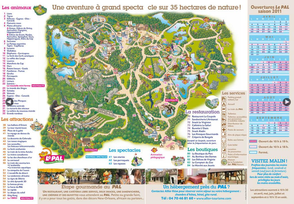 Le Pal Park Maps Informations Photos Videos Park