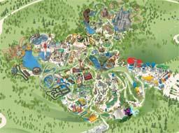 Map of Legoland Windsor