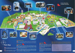 Map of Movie Park Germany