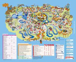 Map of Parc Astérix