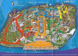 Map of Parque de Atracciones de Madrid