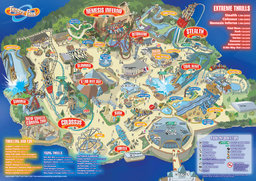 Map of Thorpe Park
