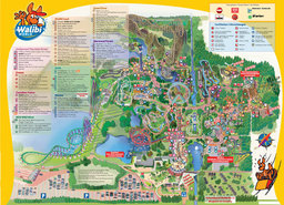 Map of Walibi Holland