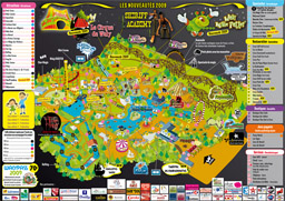 Map of Walygator Parc
