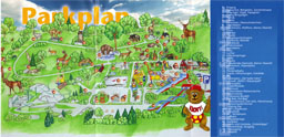 Map of Wild und Freizeitpark Klotten